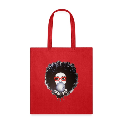 Afro pop_ - Tote Bag