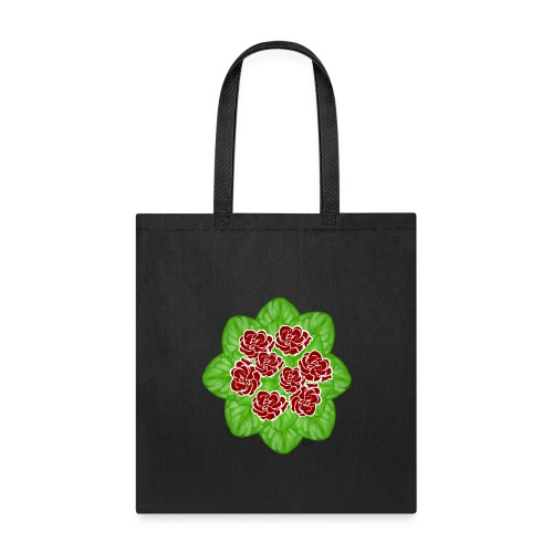 African Violet Graphic - Tote Bag