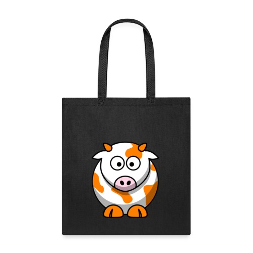 Orange Cow - Tote Bag