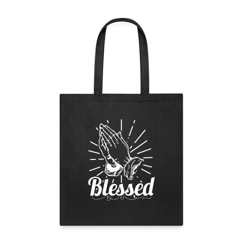 Blessed (White Letters) - Tote Bag