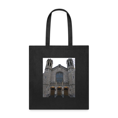 Gothic church frontage - Tote Bag