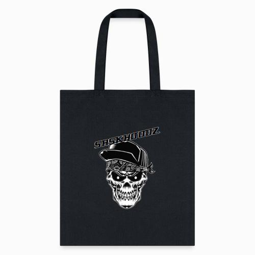 saskhoodz skull - Tote Bag