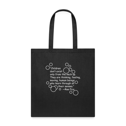 Neck-up quote - Tote Bag