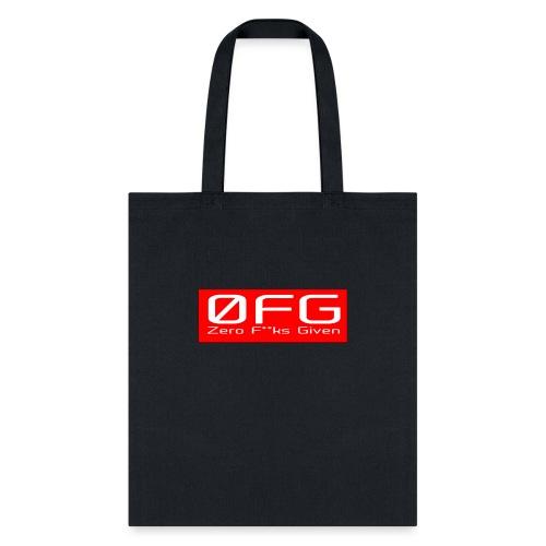 Zero Fks Given - Tote Bag