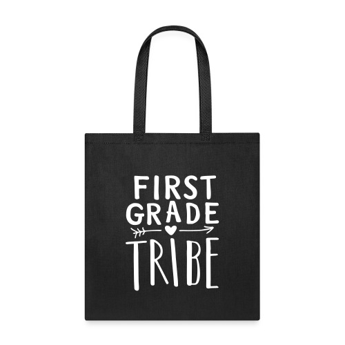 First Grade Tribe Teacher Team T-Shirts - Tote Bag
