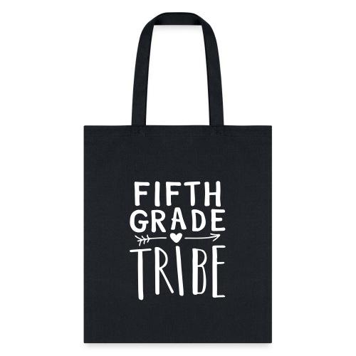 Fifth Grade Tribe Teacher Team T-Shirts - Tote Bag