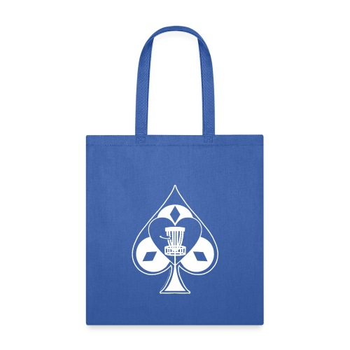 Disc Golf Lucky Ace Shirt or Prize - Tote Bag