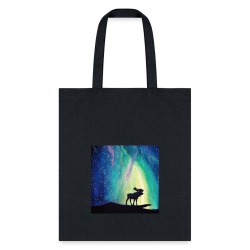 Night Moose - Tote Bag