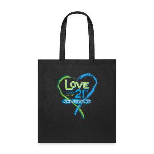 Down Syndrome Love (Blue) - Tote Bag