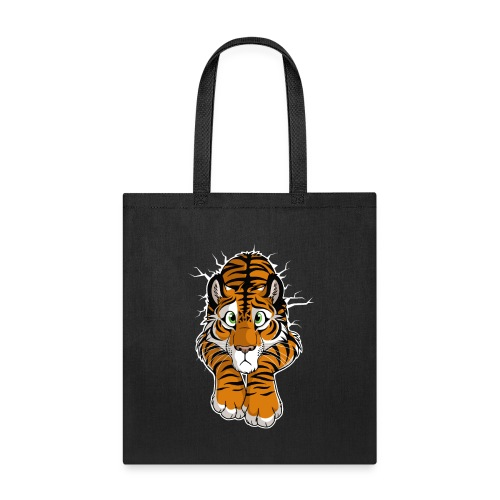 STUCK Tiger Orange (double-sided) - Tote Bag