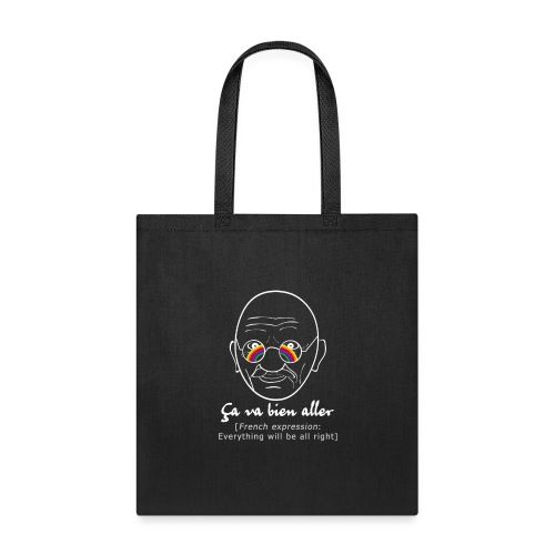 Gandhi's message of hope COVID white version 2 - Tote Bag