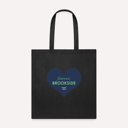 Forever Brookside Navy with Mint - Tote Bag
