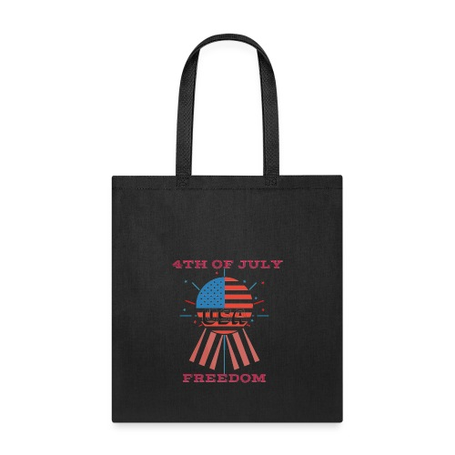 4th of July Freedom - Tote Bag