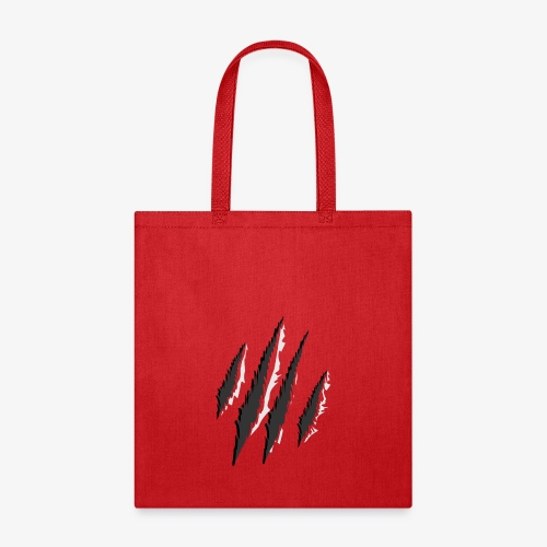 claws t-shirt design - Tote Bag