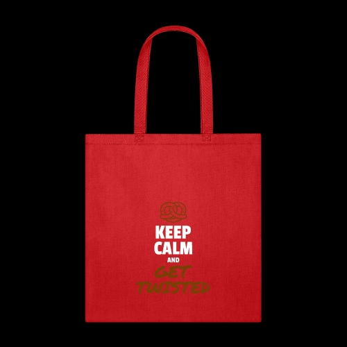 Keep Calm and Get Twisted Pretzel - Tote Bag
