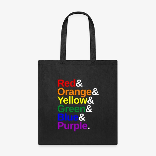 LGBTQ Color List - Tote Bag