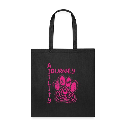 Journey Agility With Woot on Back - Tote Bag