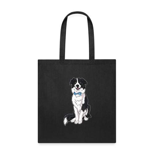 Border Collie Frankie - Transparent Background - Tote Bag