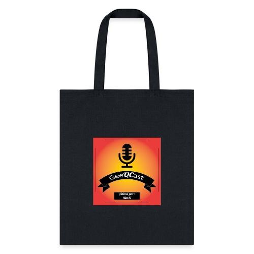 GeeQCast Full Logo - Tote Bag
