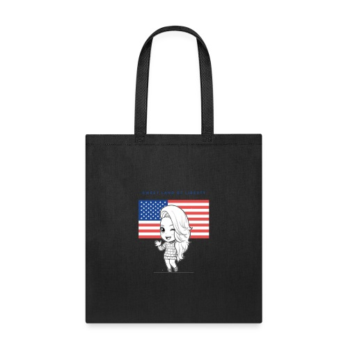 Miss Lopez USA & Land of Freedom - Tote Bag