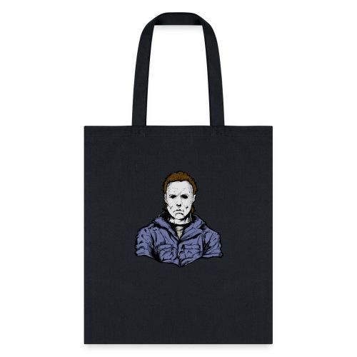 Horror Legend Masked Psycho Crazed Killer - Tote Bag