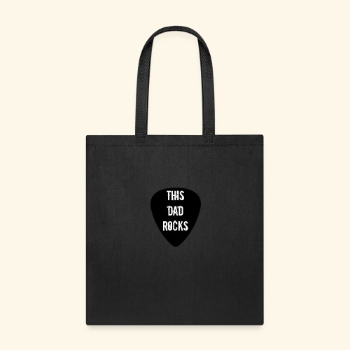 Shirt this dad rocks - Tote Bag