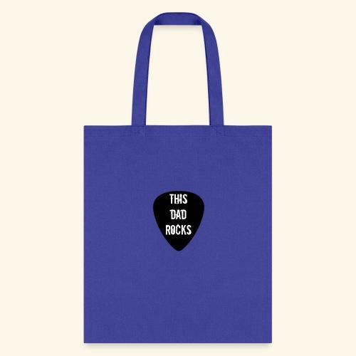 Shirt this dad rocks - Tote Bag