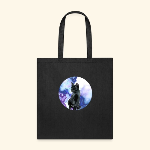 world of cats Watercolor Design - Tote Bag