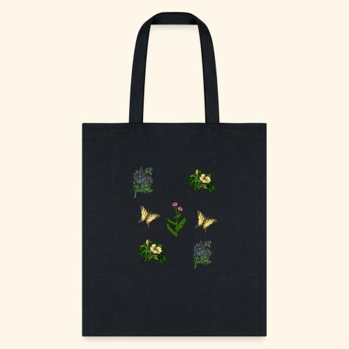 vintage bloom Botanical Design - Tote Bag