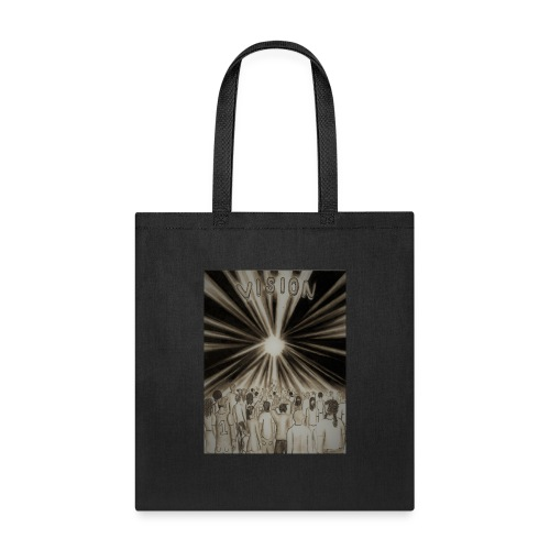 Black_and_White_Vision2 - Tote Bag