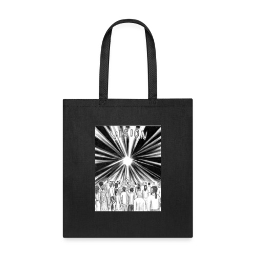Black_and_White_Vision - Tote Bag