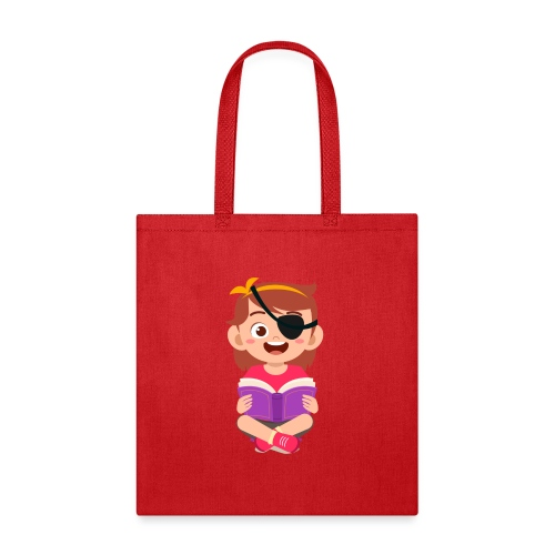 Little girl with eye patch - Tote Bag