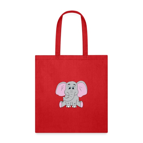 Cute Baby Elephant - Tote Bag