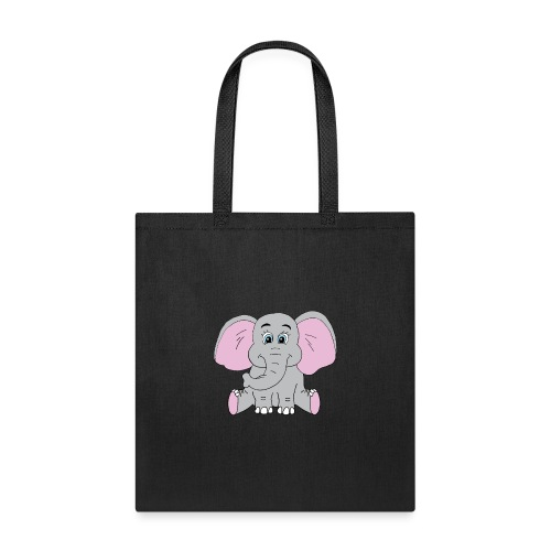 Cute Baby Elephant - Tote Bag