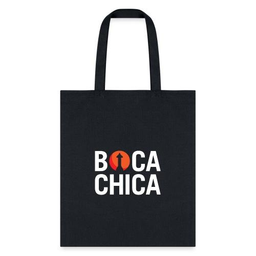 Boca Chica Starship Mars Silhouette - Tote Bag