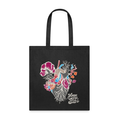 Home is where your heart is - Tote Bag