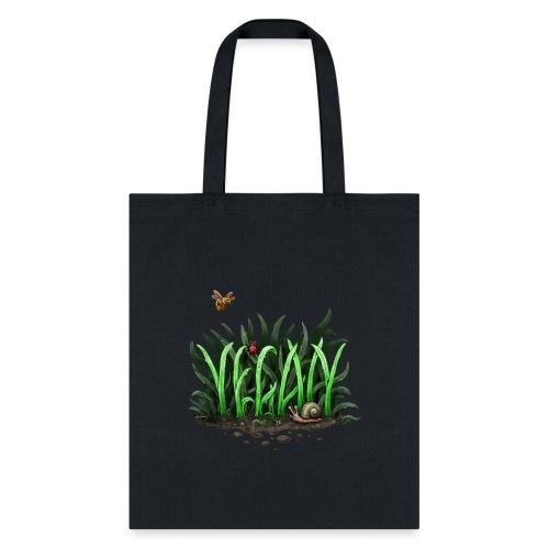 grow vegan - Tote Bag