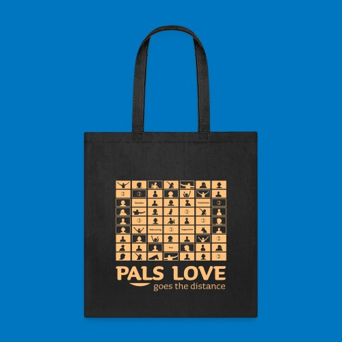 PALS Love Goes The Distance: Summer 2020 Apparel - Tote Bag