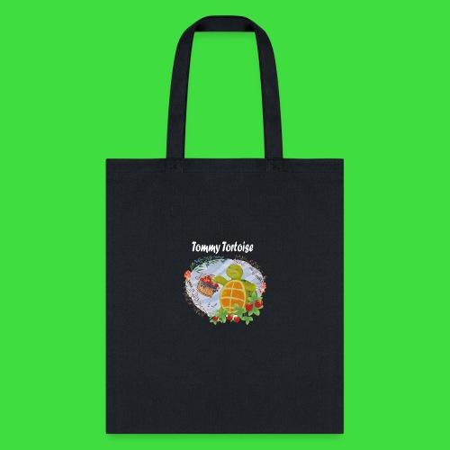 Tommy Tortoise black - Tote Bag