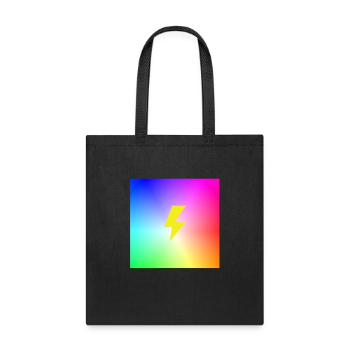 Rainbow lightning t-shirt - Tote Bag