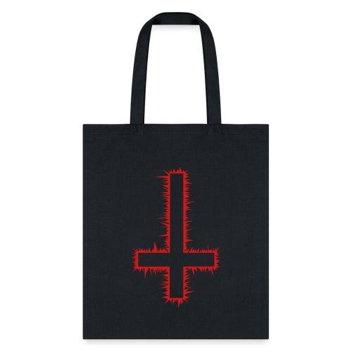 Inverted Cross - Tote Bag
