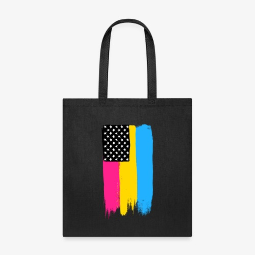 Pansexual Pride Stars and Stripes - Tote Bag