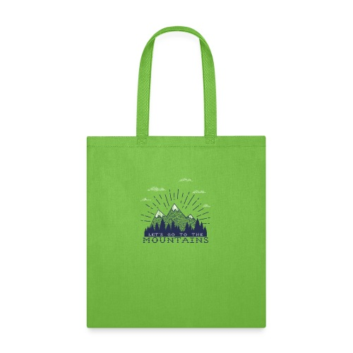 Adventure Mountains T-shirts and Products - Tote Bag