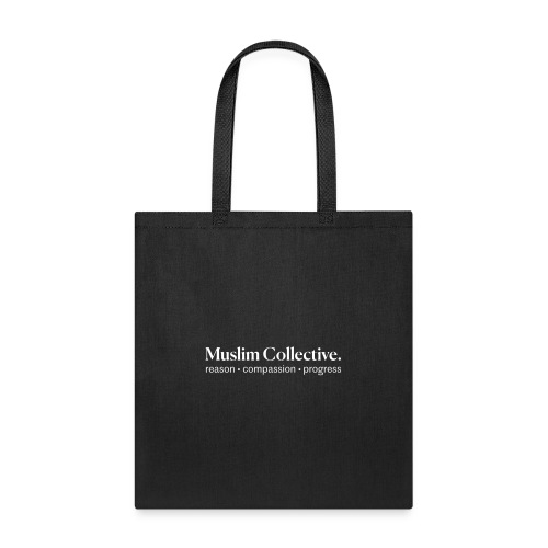 Muslim Collective Logo + tagline - Tote Bag