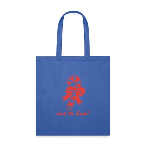 Lick Or Suck Candy Cane - Tote Bag