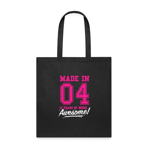 Made In 2004 Awesome 13th Birthday - Tote Bag