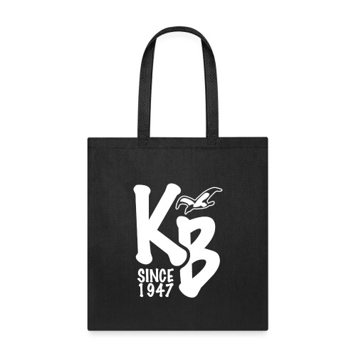 Kure Beach Day-White Lettering-Front and Back - Tote Bag