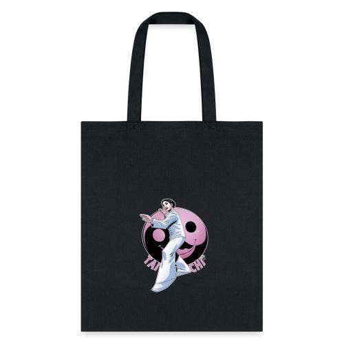 Tai Chi Shirt Nancy Hellman inspired design - Tote Bag