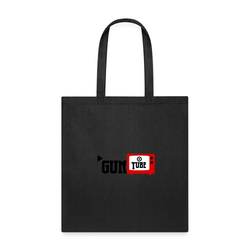 guntube larger logo - Tote Bag