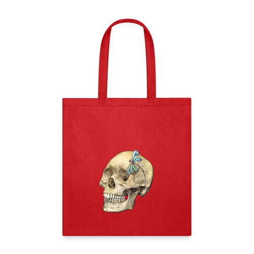 Skull & Dragonfly - Tote Bag